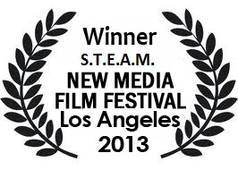 2013 Winner of STEAM award at New Media Film Festival